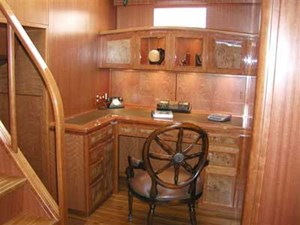 Captain's Study/Lounge/4th Stateroom