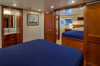 Mirrored Queen Guest Staterooms