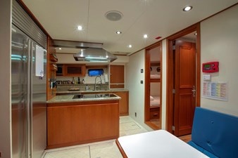 Galley and Crew Lounge