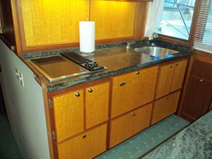 Custom Galley Cabinet