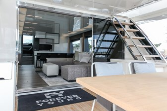 FOREVER YOUNG  18 Aft Deck