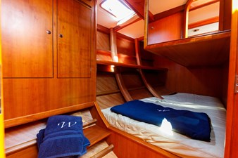 Weatherly aft cabins