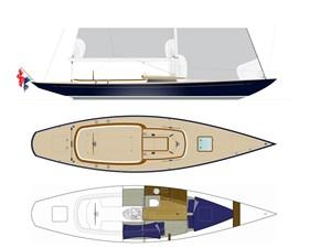 Eagle 38 deckplan + interior p