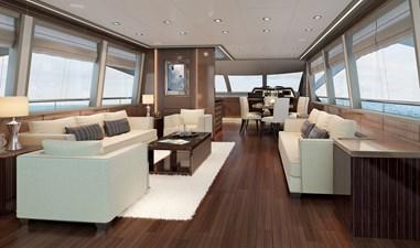 PUCCINI 78 5 Lounge facing bow