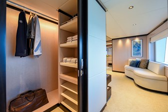 MAJESTY 120-3 10 Master Stateroom - Walk In Closet