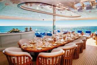MY SEANNA 30 MY SEANNA 186 Delta Marine Custom - 2 Deck Outside Dining Daytime