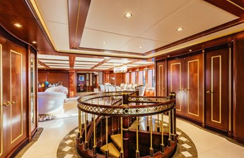 MY SEANNA 186 Delta Marine Custom - 13 Staircase to Guest Cabins