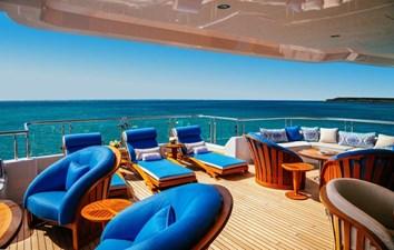 MY SEANNA 32 MY SEANNA 186 Delta Marine Custom - 31 2 Deck Sun Deck Seating