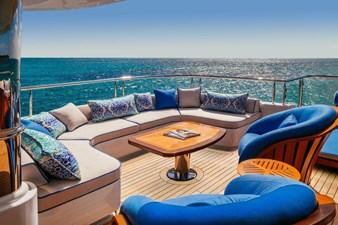 MY SEANNA 34 MY SEANNA 186 Delta Marine Custom - 33 2 Deck Sun Deck Seating