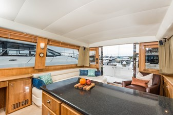 Galley View Facing Aft