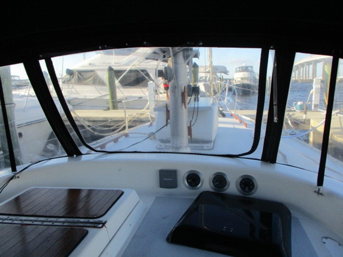 7. 41' Morgan Cockpit View Forward