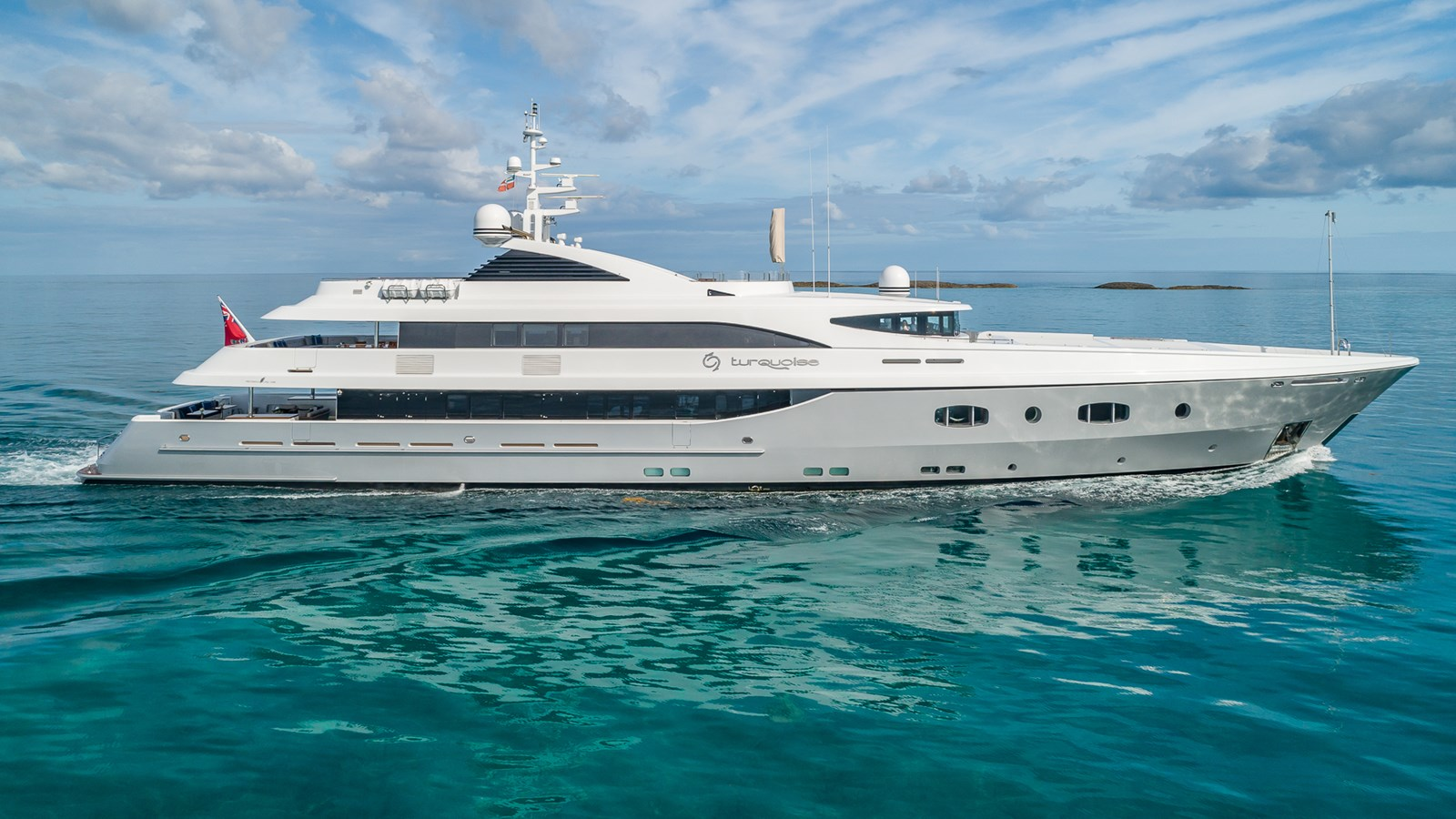 TURQUOISE yacht for sale
