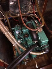 Northern Breeze 15 Engine compartment