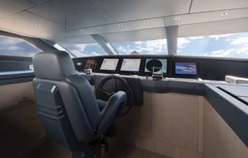 SANLORENZO SL106 14 wheelhouse