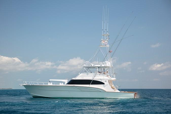 1998 Huckins 70 Sportfish SENIOR PRIVATE