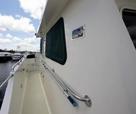 OLYMPIA Port Side Deck