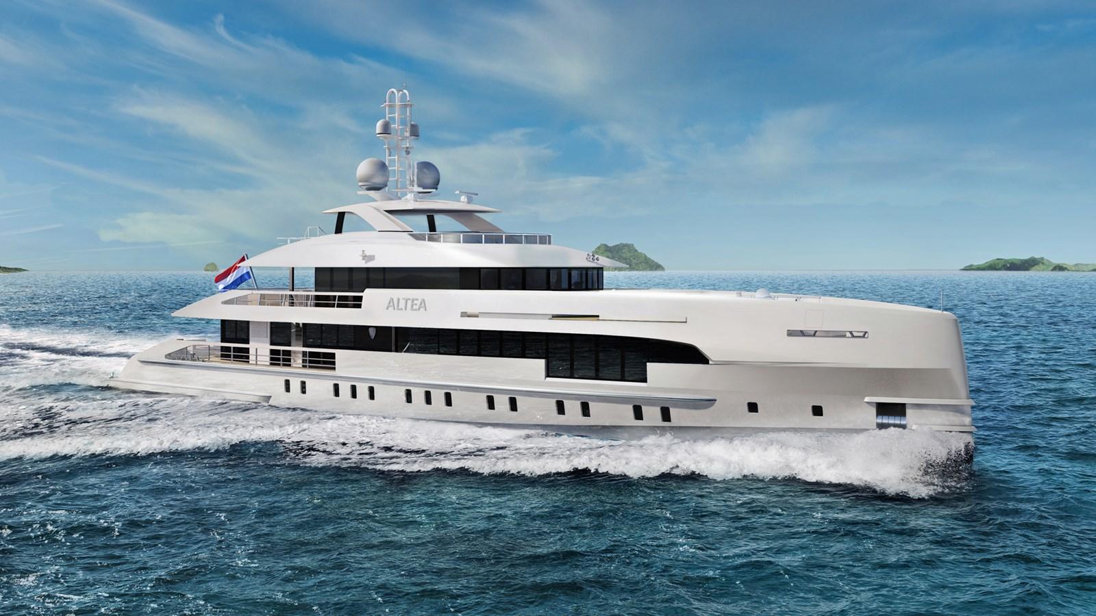 Heesen 5000 Aluminium FDHF YN19550 Project Altea yacht for sale