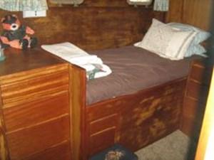 Master stateroom starboard side