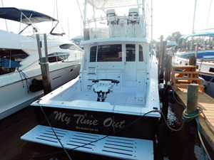 MY TIME OUT 41 Transom