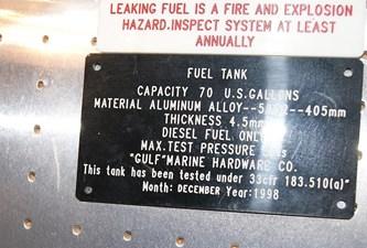 335 Fuel Tank Label