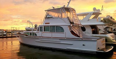 55' Custom Trawler Motor Yacht HELVETIA
