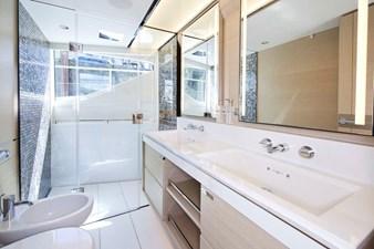PRINCESS 30M - Master Stateroom Bathroom 1b