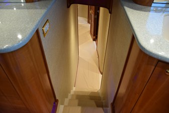 Companionway top of stairs