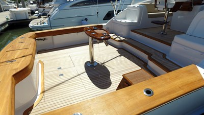 Teak Covering Boards and Transom