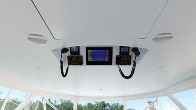 Overhead VHF and Garmin