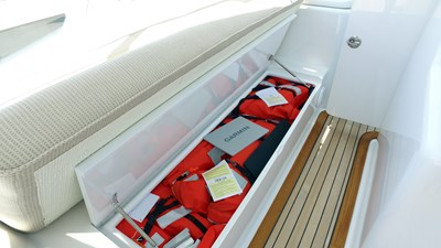 Port Under Seat Storage