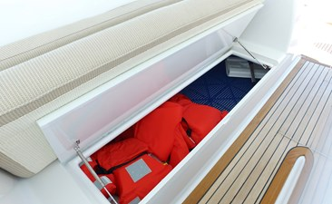 Starboard Under Seat Storage