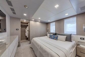 Benetti Veloce 140 VIP stateroom