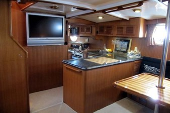 LOWER SALON TO GALLEY