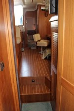 View from forward stateroom looking aft