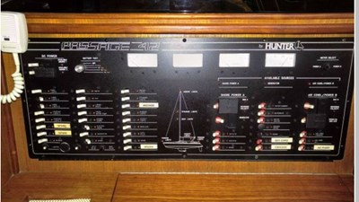 ELECTRIC PANEL AT NAV STATION