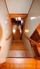 Stairway to Master Stateroom