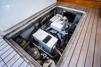 JENNY PIE  27 Engine Access
