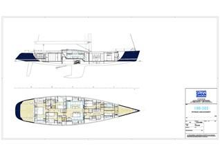 VIRAGO 44 Swan 100 S - Interior arrangement
