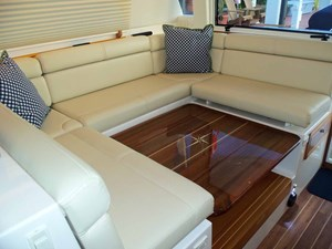 Electric Table with Filler Cushions