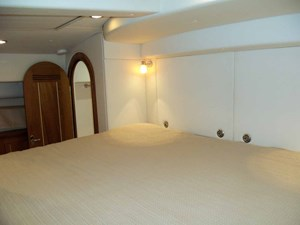 King Size Berth Looking Aft