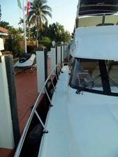 Wider Starboard Side Deck
