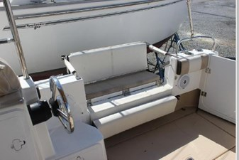 Stbd cockpit seating