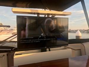 Flybridge Hidden TV