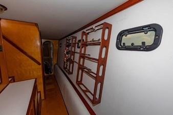 Companionway with Rod Storage