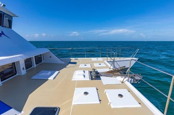 Foredeck bow area