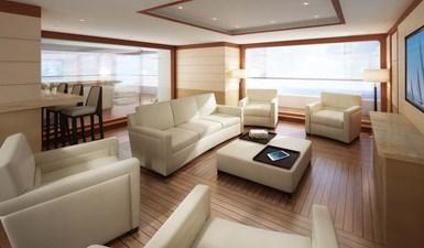 Contemporary Classic - bridge deck saloon