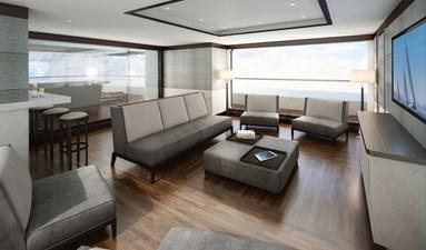 Modern Luxury -bridge deck salon