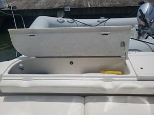 42 stern bench seat storage