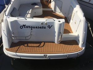 Sessa Oyster 27 Motor Yacht  - Exterior- Swim Platform