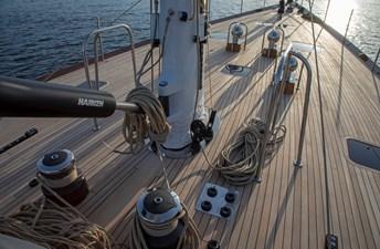 Mid-deck, Sail Handling